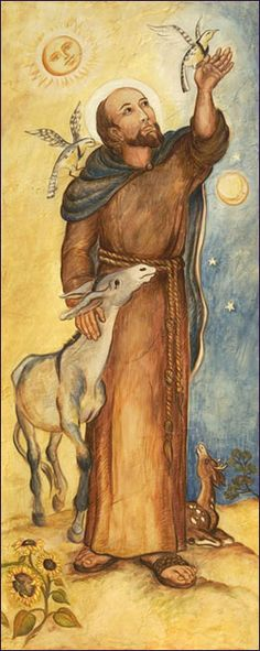 st. francis of assisi : leslie mcnamara.  Protect all sentient beings.