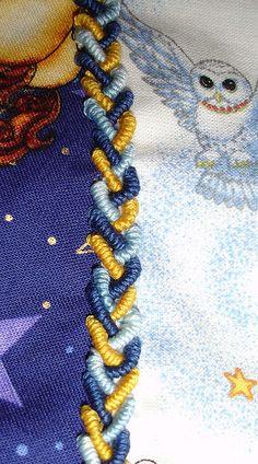 Bullion braid by mehlibrarian, via Flickr