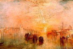 Joseph Mallord William Turner - Venice: Going to the Ball (San Martino)