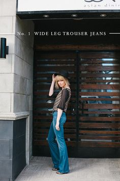 wide leg trouser jeans | citizens of humanity