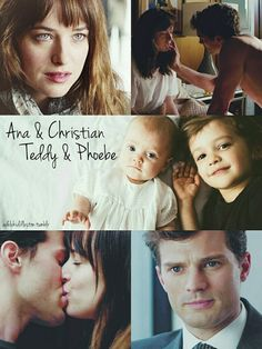 """[…]""""Isn't Mommy pretty?"""" Christian whispers inTed's ear.Ted swats him away, more interested in Daddy's BlackBerry. I giggle. """"You can't get around him."""" """"I know."""" Christian grins and kisses Ted's..."""