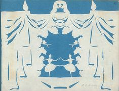 Paper cut by Hans Christian Andersen, Odense City Museums.  Source: Odense City Museums. The images may not be resold, used for advertisement, nor other commercial purposes.