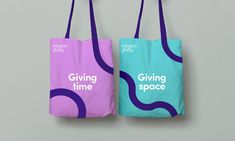 "Islington Giving gets a new identity to show it's about ""positive change"" Brand Identity Design, Corporate Design, Branding Design, Logo Design, Design Design, Event Branding, Logo Branding, Graphic Design Trends, Graphic Design Inspiration"