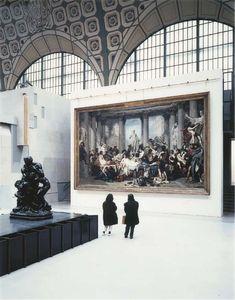 Musée d'Orsay, Paris, Photo by Thomas Struth. My favorite museum along with The Rodin Museum.both over the Louvre. Art Occidental, Paris 3, Paris Ville, Pics Art, Paris Travel, Pablo Picasso, Art And Architecture, Art Museum, Beautiful Places