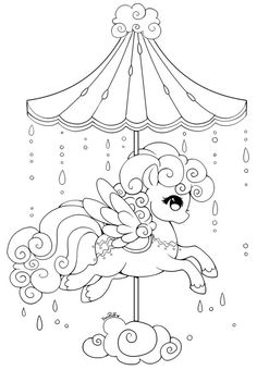 Printable Baby Unicorn Coloring Pages Kids Colouring Jos