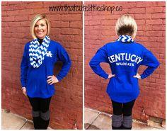 University of Kentucky Spirit Tunics--so cute!
