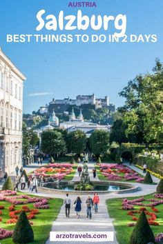 Find out about the best things to do in Salzburg, Austria - one of the prettiest cities in Europe (it really is pretty! Where to go and what to do - plus many travel tips for your Salzburg trip (including a itinerary). Visit Austria, Austria Travel, Cool Places To Visit, Places To Travel, Travel Destinations, Holiday Destinations, European Road Trip, European Travel, European Tour