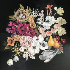 Upcoming Artists, Artworks, Floral Wreath, Ford, Collection, Floral Crown, Art Pieces, Flower Crowns, Flower Band