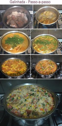 Ideas Pasta Recipes Simple Dishes For 2019 Sausage Pasta Recipes, Chicken Recipes, Brazilian Dishes, Portuguese Recipes, Diy Food, Love Food, Salad Recipes, Food And Drink, Cooking Recipes