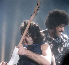 Phil Lynott and Gary Moore............
