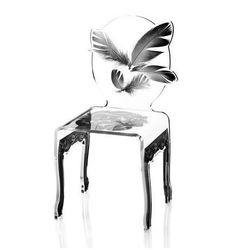 Black Feather Chair by Oliver Hayden