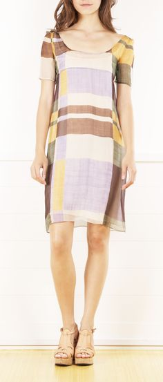 Prada Color Block Dress