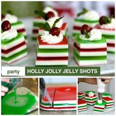 Holly Jolly Jello Shots Will Liven Up Celebrations