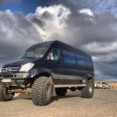"Mercedes Benz Sprinter 46"" in Iceland"