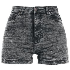 Tight cut High Waist shorts of Urban Classics made of stretchy jeans fabric.