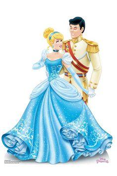 New Disney Princesses, Cinderella Disney, Heros Disney, Disney Girls, Cinderella And Prince Charming, Prince Charmant, Wedding Doll, Vader Star Wars, Princess Rapunzel