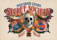 Painted Cigar Labels on Behance