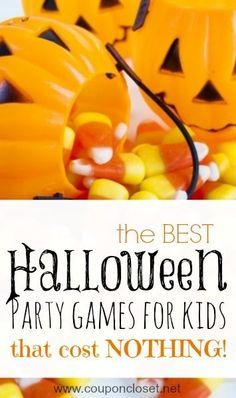 5 Halloween Party Games for Kids that are FREE - yes, you can have a blast with your family without spending a ton of money.