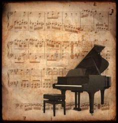 Photo about Ancient music sheet, rusted old yellow paper with piano. Image of antique, paper, instrument - 2127414 Music Images, Music Pictures, Musik Wallpaper, Music Notes Background, Claude Debussy, Ancient Music, Raindrops And Roses, Music Backgrounds, Wallpaper Backgrounds