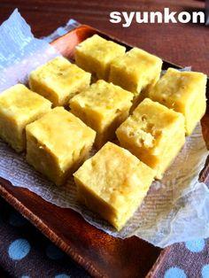 【レンジで3分】バター不使用!ホットケーキミックスで*冷めてもしっとりさつまいも蒸しケーキ |山本ゆりオフィシャルブログ「含み笑いのカフェごはん『syunkon』」Powered by Ameba