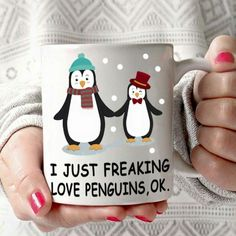 SO TRUE! i love penguins and coffee! Penguin World, Penguin Life, Penguin Art, Penguins And Polar Bears, Cute Penguins, Christmas Wishes, Christmas Gifts, Pittsburgh Penguins, Funny Art
