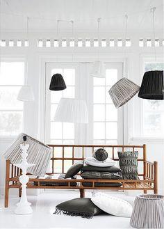 Wonder how you make a lamp shade like that?