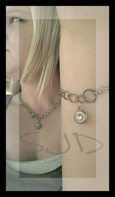 Bullet Necklace and Bracelet set by Sarahsjewelrydesigns on Etsy, $50.00