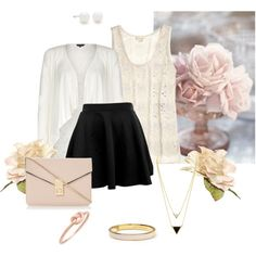 """""""Spring Roses"""" by bogyoemo on Polyvore Casual Chic, Emo, Roses, Spring, Polyvore, Stuff To Buy, Collection, Design, Fashion"""