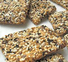Dr. Kracker copcat recipe (simple flour, sugar, yeast, water and seed)