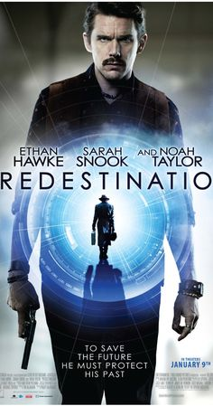PREDESTINATION. Clunky time-travel-paradox yarn that telegraphs its beats well ahead of time. 2 stars