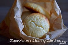 Gluten-Free Cheesecake Cookies: from Gluten-Free on a Shoestring Quick & Easy