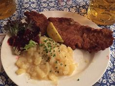 Bavarian food in the heart of Munich, Germany