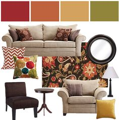 For my new family room? Already has a sage colored wall