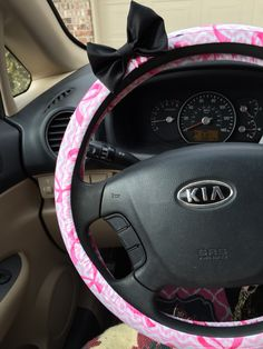 Steering wheel cover! By allys_craftyretail