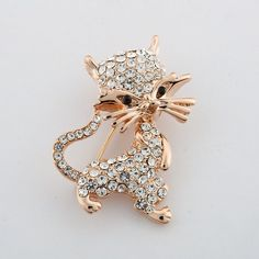 Item Type: Brooches Fine or Fashion: Fashion Gender: Women Style: Trendy Brooches Type: Brooches Brand Name: ZOSHI Material: Crystal Metals Type: Zinc Alloy Shape\pattern: Plant Model Number: XZ061 Ma