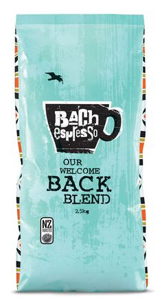 Bach Espresso Packaging by Coats Design