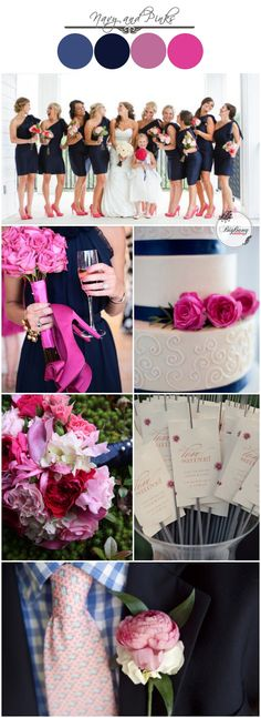 Navy and Pink Wedding Ideas | BigBang Wedding, Singapore | BigBangWedding