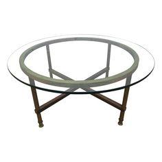 Jansen Style Bronze Coffee Table