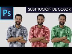 Tutorial Photoshop // SUSTITUCIÓN DE COLOR By @FabiPublicista - YouTube