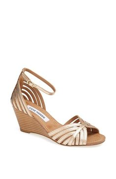 Super cute bridesmaid shoe? Steve Madden 'Lexii' Sandal available at #Nordstrom