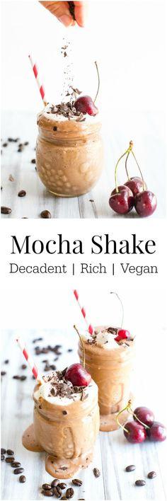 Mocha Shake #Vegan | Vanilla And Bean