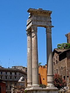 Ruins of Rome at the Forum