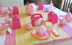 Love & Sugar Kisses: Piggy Ballerina Party