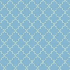 Fat Quarter - Twist, Quatrofoil - Powder Blue by LaCreekBlue on Etsy
