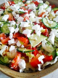 Caprese Salad, Pasta Salad, Cobb Salad, Diet Recipes, Healthy Recipes, Winter Food, Paleo, Food And Drink, Appetizers