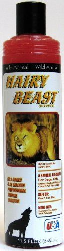 Wild Animal Hairy Beast Pet Shampoo 12oz KE803612 * Click affiliate link Amazon.com on image to review more details.