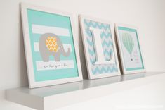 poster na decoração de quarto bebê - Pesquisa Google Baby Bedroom, Kids Bedroom, Kid Spaces, Baby Decor, Framed Art, Baby Kids, Diy And Crafts, Projects To Try, Nursery