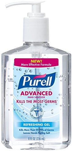 Purell Instant Hand Sanitizer - 8 oz - Purell Hand Sanitizer, 8 oz. Pump