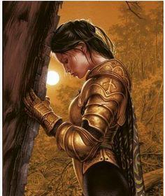 Warrior women of the woods