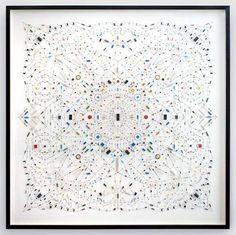 """Artist's Complex """"Technological Mandalas"""" Are Made From Recycled Computer Parts : TreeHugger"""
